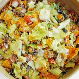 Doritos Taco Salad - WeightWatchers