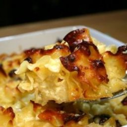 Double Apple Noodle Kugel