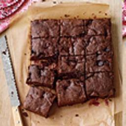 Double Chocolate-Cherry Brownies