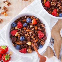 Double Chocolate Granola