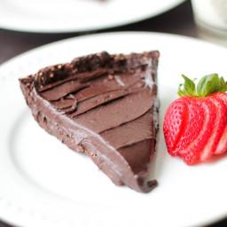 Double Chocolate Hazelnut Torte - Vegan, Gluten Free, Paleo