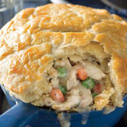 Double-Crust Chicken Pot Pies Recipe