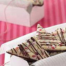 Double Chocolate Truffle Triangles