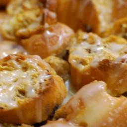 Doughnut Bread Pudding