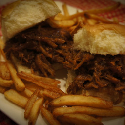 Dr Pepper Pulled Pork Sliders
