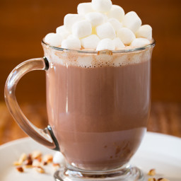 Dreamy Hazelnut Hot Cocoa