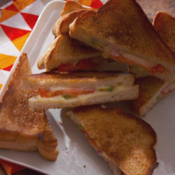 Dressed Up Grilled Cheese Sandwiches