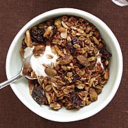 Dried Cherry and Coconut Granola