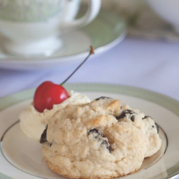Dried-Cherry Scones