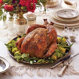 Dry Brined-Herb Roasted Turkey