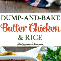 Dump-and-Bake Butter Chicken and Rice