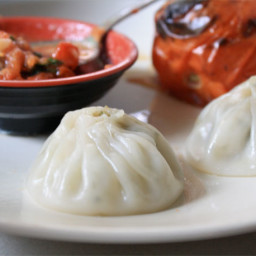 Dumplings with Sichuan Peppercorns and Spicy Tomato Sauce Recipe