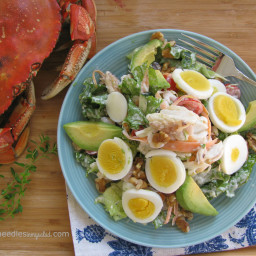 Dungeness crab cobb salad