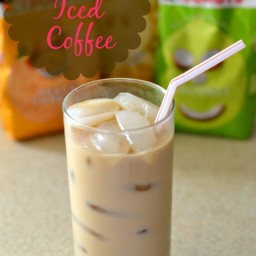 Dunkin Donuts Coconut Iced Coffee
