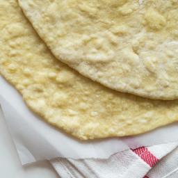 Easiest 5-Ingredient Spelt Flatbread