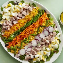 Easter Egg Cobb Salad