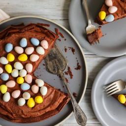 Easter Egg Nest Cake