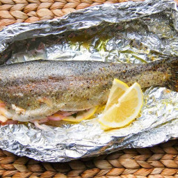 Easy 20 Minute Oven Baked Trout Recipe