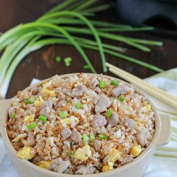 Easy 20 Minute Pork Fried Rice
