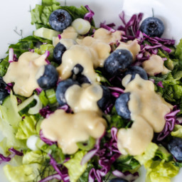 Easy anchovy salad dressing (AIP)