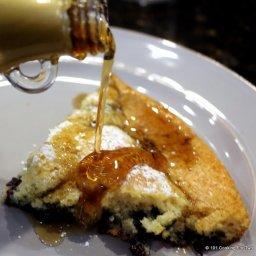 Easy Baked Blueberry Pancakes