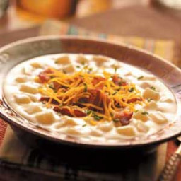 Easy Baked Potato Soup Recipe