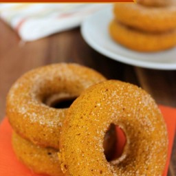 Easy Baked Pumpkin Doughnuts