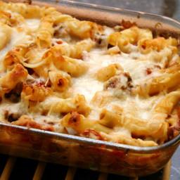 Easy Baked Ziti With Three Cheeses Recipe