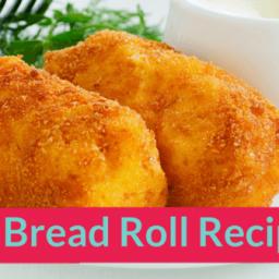 Easy Bread Roll Recipe for kids