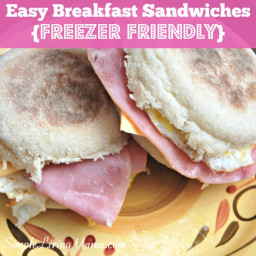 Easy Breakfast Sandwiches