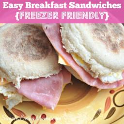 Easy Breakfast Sandwiches