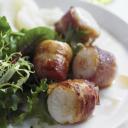 how to make broiled scallops