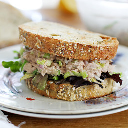 Easy Brussels Sprout Tuna Salad