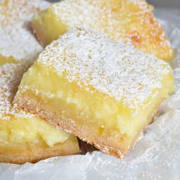 Easy Cake Mix Lemon Bars