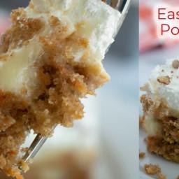 Easy Carrot Poke Cake