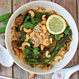 Easy Cashew Ramen [Vegan, Gluten-Free]