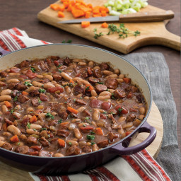 Easy Cassoulet with Sausage and White Beans