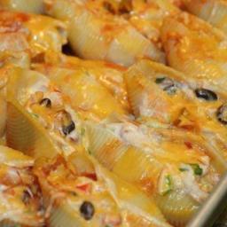 Easy Cheesy Mexican Stuffed Shells