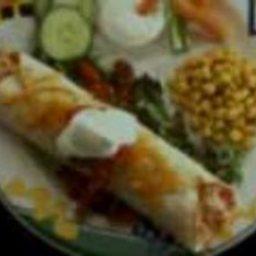 Easy Cheesy Turkey Enchiladas