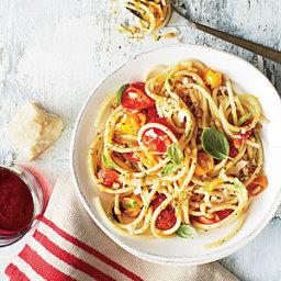 Easy Cherry Tomato Pasta Sauce