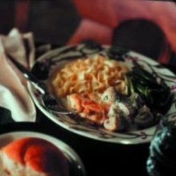 Easy Chicken and Mushroom Stroganoff