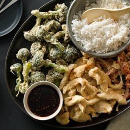 Easy Chicken and Vegetable Tempura