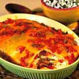 Easy Chicken Chalupa Casserole
