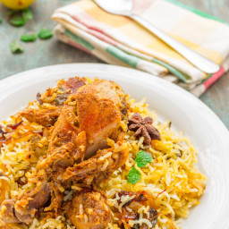 Easy Chicken Dum Biryani