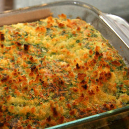 Easy Chicken Florentine Bake With Spinach Souffle