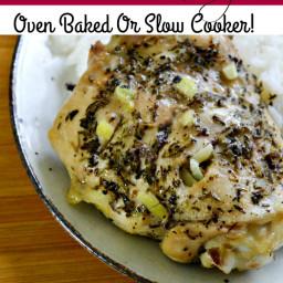 Easy Chicken Recipe - Garlic and Herb Chicken Thigh Recipe