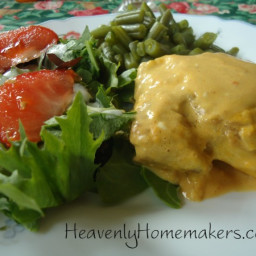 Easy Chicken With Cream Cheese Sauce