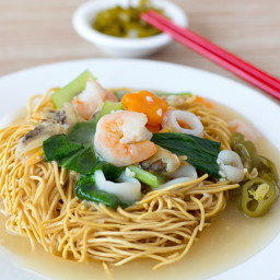 Easy Chinese Crispy Noodles Recipe