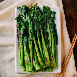 Easy Chinese Yu Choy Sum Recipe