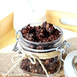 Easy Chocolate Granola
